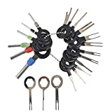 OSOF 21Pcs Auto Terminals Removal Key Tool Set, Car Electrical Wiring Crimp Connector Pin Extractor Puller Repair Release Kit