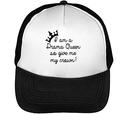 Negro Give Beisbol Drama Gorras A Crown I Blanco Snapback Hombre So Am My BAgqf