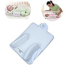 1PCS Baby Infant Newborn Anti Roll Pillow Ultimate Sleep Positioner System Prevent Flat Head Cushion