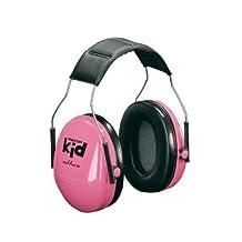 3M PELTOR Kids Ear Muffs Pink H510AK-442-RE by 3M