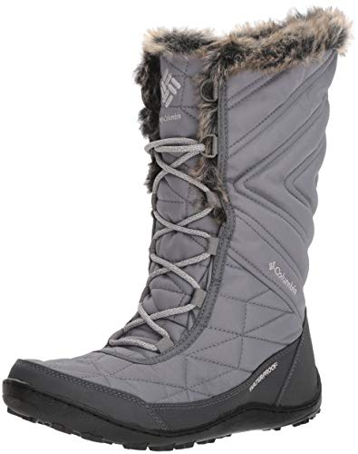 Columbia Women's Minx III Mid Calf Boot, ti Steel, Grey ice, 8 Regular ()