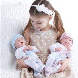 Amazon Com Jc Toys Realistic Twin With Pajamas Girls Baby Dolls