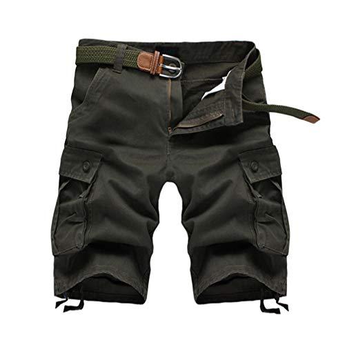 Slim Green Pantaloni Uomo Ginnastica Fitness Jogging Fit Da Army Casual Harem OYwvOq
