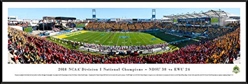 2019 FCS Football Championship - NDSU vs EWU - Standard Framed Picture by Blakeway Panoramas