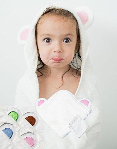 hooded toddler towel - 1