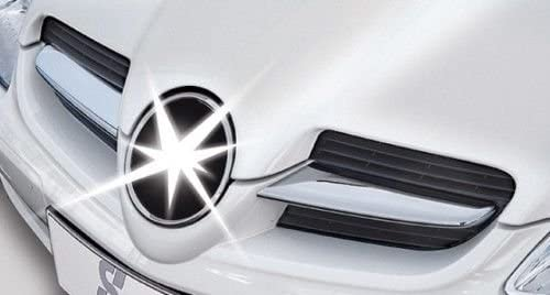 Cks Mercedes SLK Chrom Rippen Motorhaube Gitter Grill Modelle 17130999 f/ür Modell Until 2004 To 03//2008