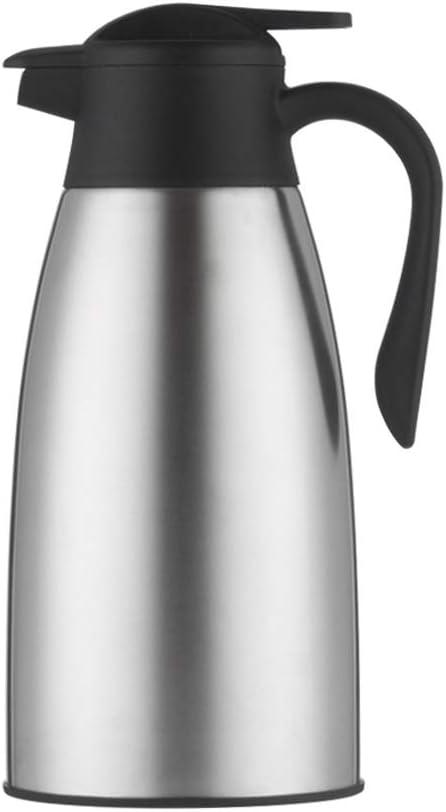 DUHUI POT Jarra de vacío, cafetera de Doble Pared aislada al vacío de Acero Inoxidable, Jarra térmica, 2 litros (Color : D): Amazon.es: Hogar