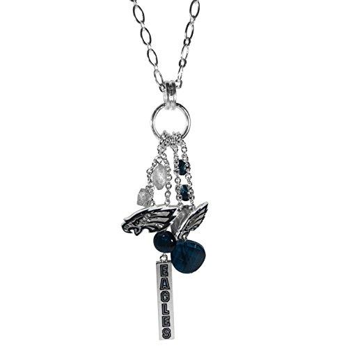 Siskiyou NFL Philadelphia Eagles Cluster Necklace, 30