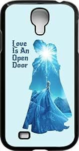 DiyPhoneDiy Disney Series Phone Case for For Ipod Touch 4 Cover , Disney Princess For Ipod Touch 4 Cover , Only Fit For Ipod Touch 4 Cover (Black Frosted Shell)