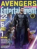 Entertainment Weekly Magazine (March 16 2018) Avengers Infinity War Rocket, Groot & Thor Cover 2 of 15