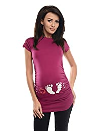 Purpless Maternity Printed Top Pregnancy T-shirt Tee Pregnant Women Slogan Love Print 2010
