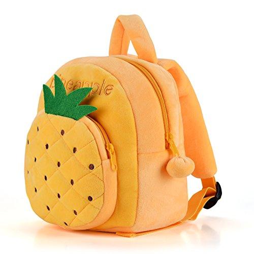 Gloveleya Kids Plush Backpack Toddler Lunch Bags Kindergarten Bag For Little Children(12-36M)- 9