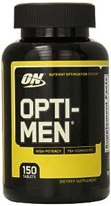Optimum Nutrition Opti-Men 150 Tabs 12/Cs