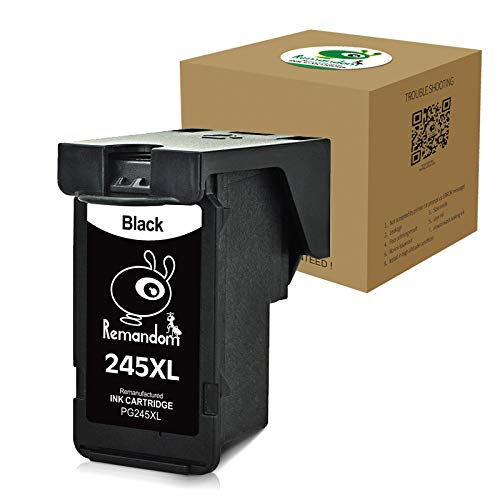 BIGWORDS com | Remandom High Yield Remanufactured Ink Cartridge Replacement  for Canon 245XL Canon 246XL Use for Canon PIXMA MX492 MG2920 MG2520 IP2820