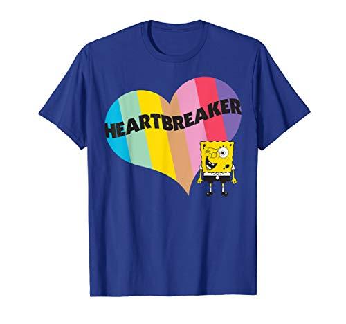 Spongebob Squarepants Spongebob Heart T-Shirt]()