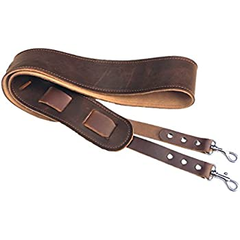 leather banjo cradle strap twin saints leather made in the usa musical instruments. Black Bedroom Furniture Sets. Home Design Ideas