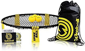 Spikeball Game Set (3 Ball Kit) - Outdoor Indoor Gift for Teens, Family - Yard, Lawn, Beach, Tailgate - Includes Playing...