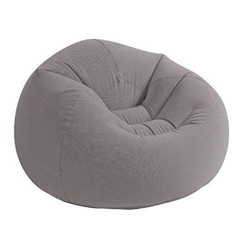 Intex 68579NP - Sillon hinchable beanless 107 x 104 x 69 cm gris