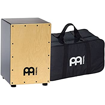 meinl percussion mcaj100bk ma maple cafe cajon with internal fixed snares and free. Black Bedroom Furniture Sets. Home Design Ideas
