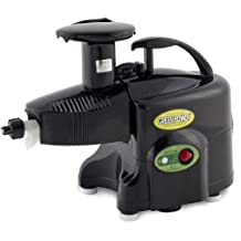 Green Power KPE1304 Twin Gear Juicer Wheatgrass, Vegetable & Fruit Juicer + Multi-purpose Kit - BLACK