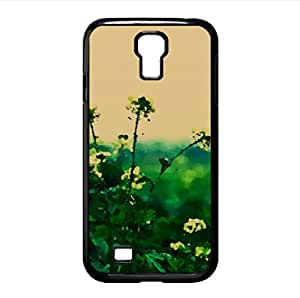 Winter Rapeseed Watercolor style Cover Samsung Galaxy S4 I9500 Case (Flowers Watercolor style Cover Samsung Galaxy S4 I9500 Case)