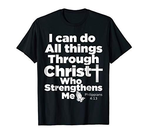 Christian Bible Verse T-Shirt - Jesus Christ God Tee Shirt