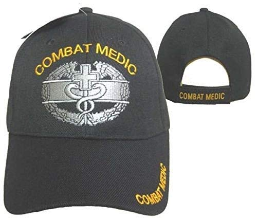 AES Combat Medic Ball Cap Hat Baseball Embroidered 3D (Licensed)