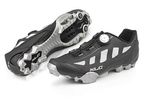 XLC Pro MTB Shoes CB-M08 schwarz/grau Gr. 48 Fahrradschuhe