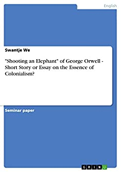 "orwell essays amazon Every time i've taught george orwell's famous 1946 essay on misleading, smudgy writing, ""politics and the english language, to a group of undergraduates, we've."