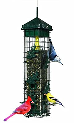 Squirrel Solutions Seed Saver 200 Wild Bird Feeder from Brome Bird Care