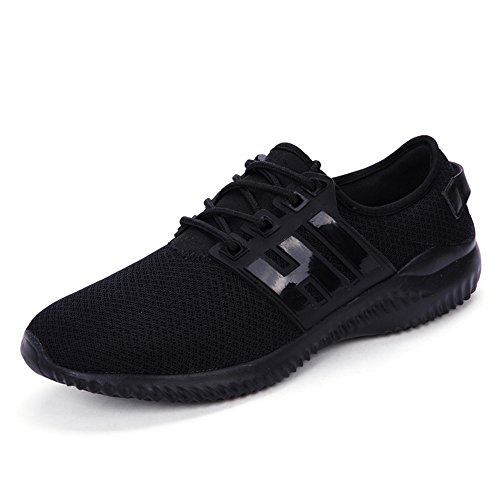 Slip Mesh Black Fashion Sneakers Men's Casual Women's xiaoyang On Shoes tBIq7xwW