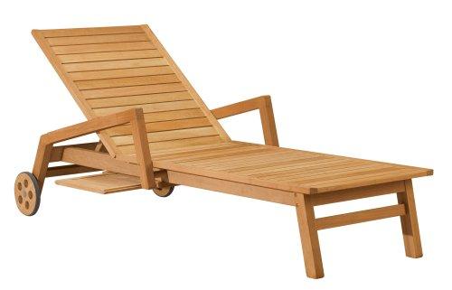 Oxford Garden Siena Shorea Chaise Lounge