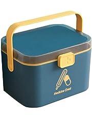 DOITOOL 1 szt. domowe pudełko na leki wielowarstwowe przenośne pudełko do przechowywania leków pudełko pierwszej pomocy