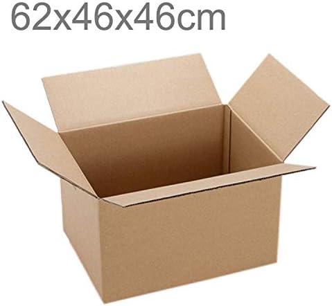 Laifeng Caja de Almacenamiento, Embalaje de envío Cajas de Papel Kraft en Movimiento, Tamaño: 62x46x46cm, Impresión Personalizada y Tamaño Son bienvenidos: Amazon.es: Jardín