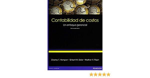 Contabilidad De Costos Spanish Edition Charles T