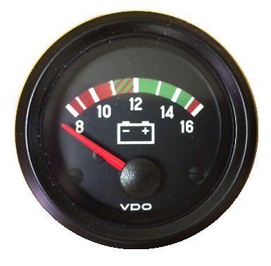 - VDO Gauge Voltmeter, Genuine, 12V, Cockpit 332-932, 2