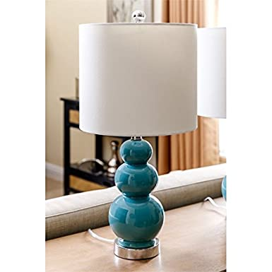 Amazon.com: Abbyson Living Lámpara de mesa en francés (2 ...