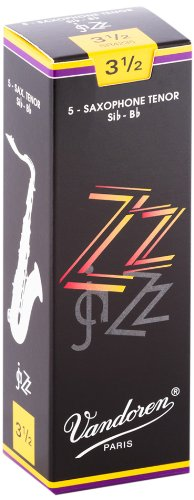 Vandoren SR422 Tenor Sax ZZ Reeds Strength 2; Box of 5