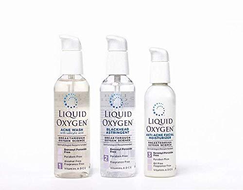 - Liquid Oxygen Three Step Acne System