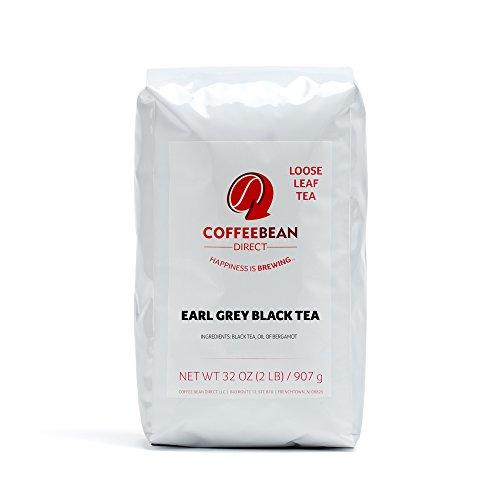 Coffee Bean Direct Earl Grey  Black Tea, 2 Pound Bag
