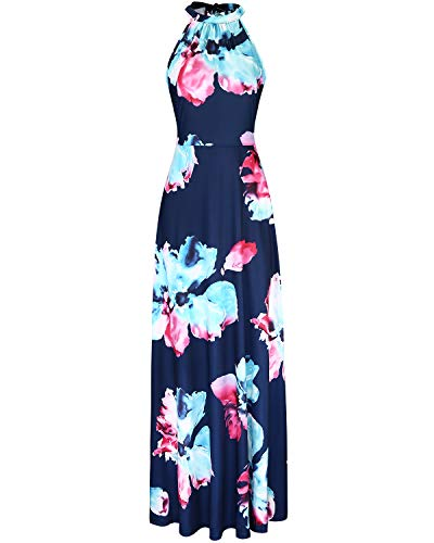 STYLEWORD Women#039s Off Shoulder Elegant Maxi Long DressFloral05M