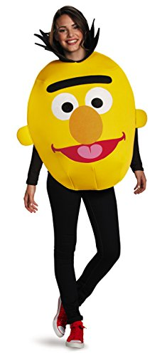 Disguise Men's Bert Sandwich Board Costume, Yellow, One Size