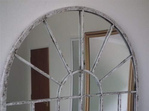 MirrorOutlet Grande Bianco Sporco Giardino Arco Rustico Parete Specchio 2/FT7/x 1/FT8/ 79/cm x 51/cm