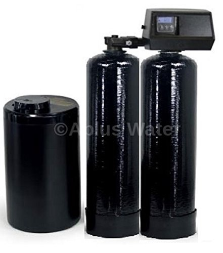 New Fleck 9100 SXT Complete Twin Tank Mini Compact Water Softener System 247 Soft Water