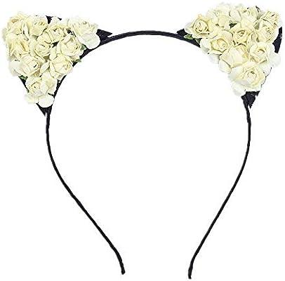 Kfang-headbands Kangfang, Orejas de Gato Aro de Pelo Pequeño ...