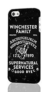 Winchester Family Ouija Board Pattern Image - Protective 3d Rough Case Cover - Hard Plastic 3D Case - For iPhone ipod touch4