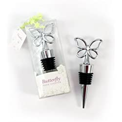 Weddingstar Butterfly Wine Stopper in Gift Packaging