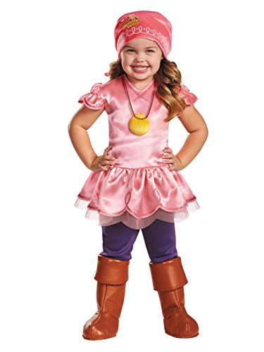 Disney Jake & The Never Land Pirates Toddler Girls Izzy Halloween Costume 2T (Jake Toddler Costume)
