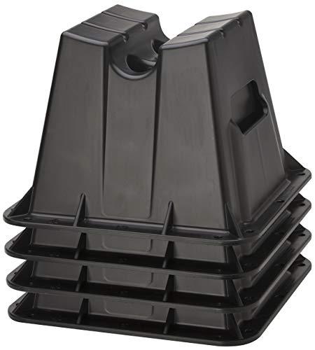 (Attwood Corporation 11401-4 Pontoon Winter Storage Block, Set of 4)