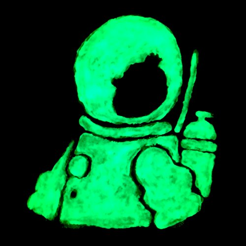 how to use water based glow in the dark paint